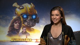 Download Hailee Steinfeld talks 'Bumblebee', writing music for the movie, and her new TV series Video