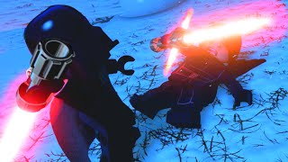 Download LEGO Star Wars The Force Awakens Darth Vader VS Kylo Ren Final Boss Fight Video