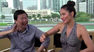Download Fun interview with Ken Jeong & Olivia Munn: ″Asians are just like us!″ Video