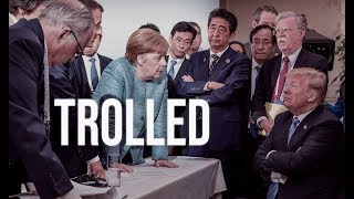 Download Trump Trolled Merkel with Candy: She'll Be Gone By Halloween Video