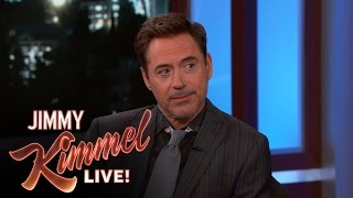Download Robert Downey Jr. on the New Spider-Man Video
