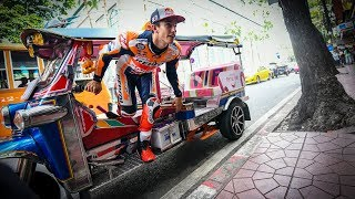 Download Bangkok to Buriram: Marquez's banging arrival to Thailand Video