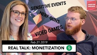Download 💲💲CLARIFYING MONETIZATION POLICIES: Sensitive Events, Profanity, Nerf Guns, & Video Games Video