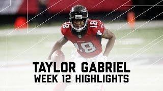 Download Taylor Gabriel's 2 TD Day! (Week 12 Highlights) | Cardinals vs. Falcons | NFL Video