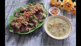 Download Cách làm cháo vịt gỏi vịt chấm mắm gừng, đặc sản Miền Tây || Vietnamese duck congee|| Natha Food Video