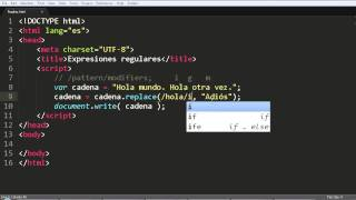 Download Javascript: Expresiones regulares y método replace Video