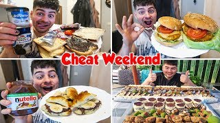 Download MY BIG FOOD CHEAT WEEKEND | Nutella Croissants, Bounty spread, Home made SWEETS & more | SLAVA 2018 Video