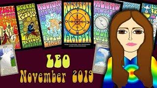Download Tarot psychic reading LEO NOVEMBER 2019 Negotiating your Future! Tarot psychic reading Video