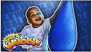 Download GIANT WUBBLE BUBBLE   DIY FLUFFY SLIME STRESS BALL   SUPER SQUISHY & SOFT!!! Video