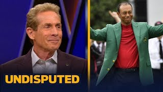 Download Tiger has risen back to the very top of sports after Masters win — Skip Bayless   GOLF   UNDISPUTED Video