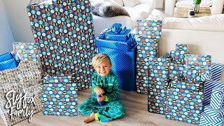 Download 🎂 CASPIAN'S 5th BIRTHDAY SPECIAL MORNING PRESENT OPENING!! 🎁 | Slyfox Family Video