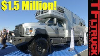 Download The Ultimate $1.5 Million EarthRoamer Luxury 4x4 RV Revealed Video