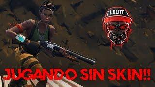Download 💀 ¡JUGANDO SIN SKIN! ¡SOY UN CARAMELITO! 💀 ~ FORTNITE Video