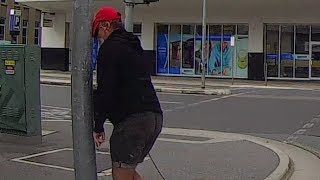 Download Angry pedestrian gets instant karma Video