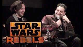 Download ″Star Wars Rebels″ series finale Q&A with cast and creator at Walt Disney Studios Video
