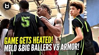 Download LaMelo Ball Arrives LATE & STILL Flirts w/ Triple Double!! Big Ballers HEATED Game vs Armor Elite! Video
