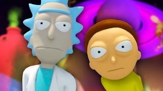 Download THERE'S ONLY ONE WAY OUT MORTY | Rick And Morty VR #2 (HTC Vive Virtual Reality) Video