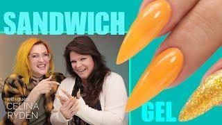 Download Sandwich Technique Gel Nails Video