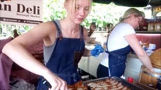 Download LONDON STREET FOOD, BOROUGH MARKET, FRESH FOOD MARKET IN LONDON, BOROUGH Video