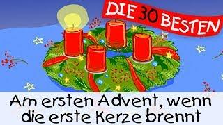 Download Am ersten Advent, wenn die erste Kerze brennt - Weihnachtslieder zum Mitsingen || Kinderlieder Video