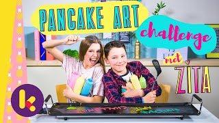 Download Pancake Art Challenge met Zita Video