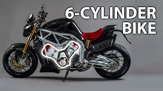 Download The Only 12 Six-Cylinder Bikes Ever Built Video
