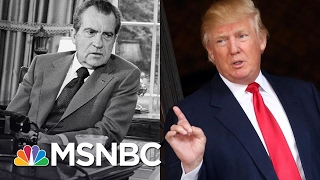 Download How President Donald Trump's Actions Compare To Richard Nixon's | MSNBC Video