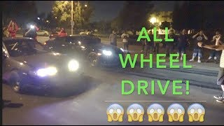 Download AWD Turbo Integra vs GTR $6,000 Street Race Video