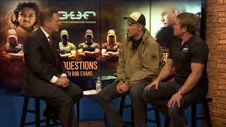 Download Actor Jim Caviezel and Tim Ballard of Operation Underground Railroad - 3 Questions with Bob Evans Video
