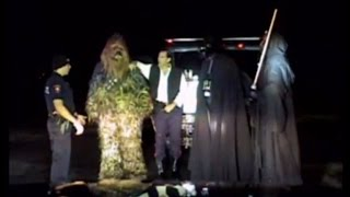 Download Texas Police Officer Pulls Over a Car Full of 'Star Wars' Characters Video