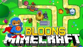 Download BLOONS TOWER DEFENSE IN MINECRAFT! Video