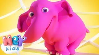 Download Un Elefante Se Balanceaba - Canción Infantil - HeyKids Video
