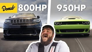 Download 1750 Horsepower Combined! Jeep TrackHawk & Dodge Hellcat | The New Car Show Video