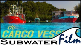Download RC boats   HUGE CARGO VESSELS 🛳 ...and a small one but all the same scale! Video