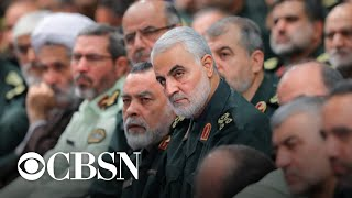 Download Iran vows revenge for death of Qassem Soleimani as Trump says 52 Iranian sites could be targeted Video
