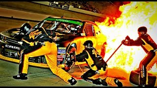 Download NASCAR Pit Road Accidents Video