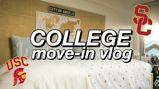 Download USC FRESHMAN YEAR DORM MOVE-IN VLOG!! Video