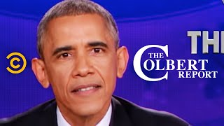 Download The Colbert Report - President Obama Delivers The Decree Video