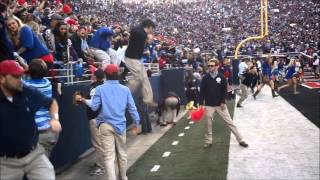 Download Watch Ole Miss fans storm the field after beating Alabama Video