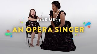 Download Kids Meet an Opera Singer | Kids Meet | HiHo Kids Video
