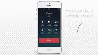 Download How to Make Conference Call on iPhone Video