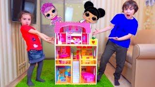 Download Дети САМИ ПОСТРОИЛИ ДОМ! Во Всем ВИНОВАТА Кукла LOL! Для детей kids children Video