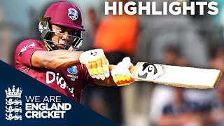 Download Lewis Hits Stunning 176 Before Buttler And Ali Fight Back - England v West Indies 4th ODI 2017 Video