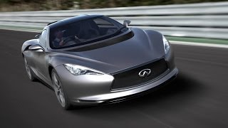 Download MotoMan drives the Infiniti Emerg-E Concept Car Video