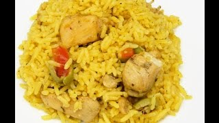Download How to make Puertorican Arroz con Pollo (Rice with Chicken) Video