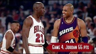 Download NBA Finals 1993. Phoenix Suns vs Chicago Bulls - Game Highlights   Game 4   Jordan 55 HD 720p/60fps Video