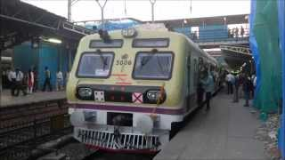 Download India's First Stainless Steel Train (Bombardier EMU) Captured on the Date Of It's Launch in Mumbai Video