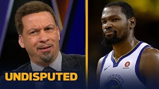 Download Chris Broussard on how Kevin Durant damaged the NBA by joining the Warriors | NBA | UNDISPUTED Video