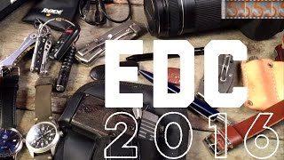 Download Everyday Carry (EDC) Loadout 2016 | Most Carried & Newest Gear: Omega, Spyderco, Sig Sauer, Canon Video