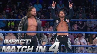 Download Johnny Impact & Matt Sydal vs EC3 and Tyrus: Match in 4 | IMPACT! Highlights Feb. 15, 2018 Video
